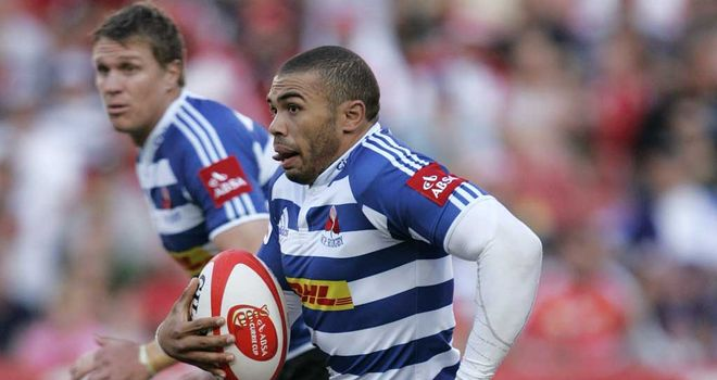 Bryan Habana: In action for Western Province