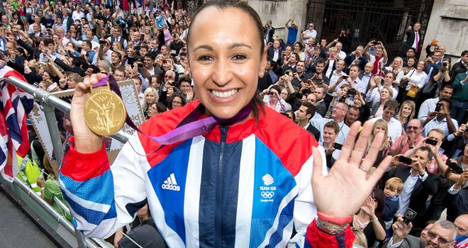 Jessica Ennis: Pipped at the post by American sprinter Allyson Felix