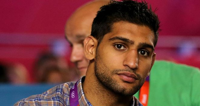 Amir Khan: excited by new trainer