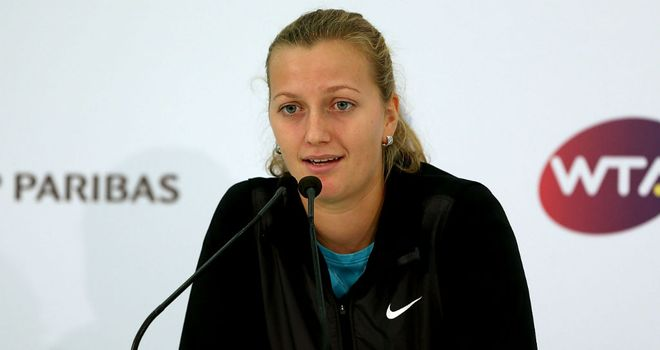 Petra Kvitova: Forced to withdraw in Istanbul through illness