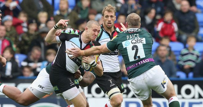 Mike Brown: Back at No.15 for Harlequins