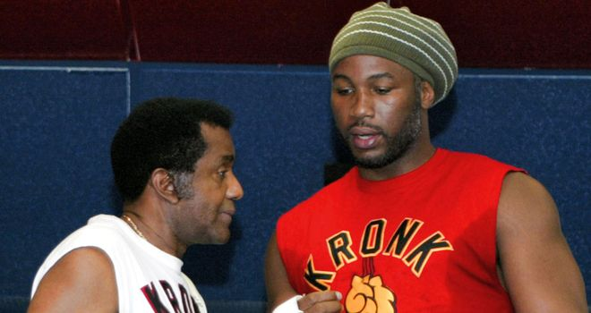 Manny Steward and Lennox Lewis formed a close bond in their time together