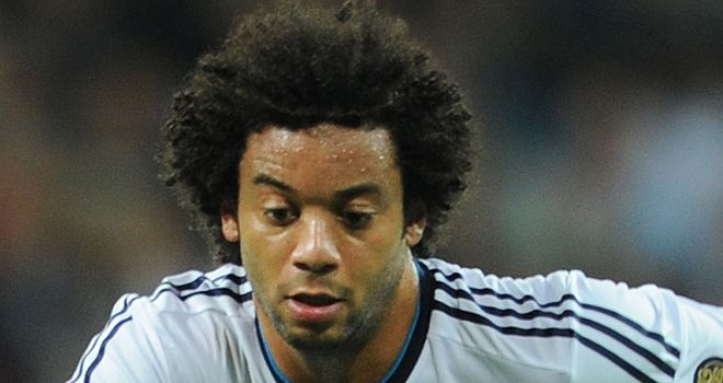Marcelo: Admitted to being a little down after breaking a foot bone during a training session