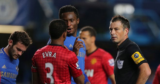 Mark Clattenburg: Accused of making an alleged racist comment to John Obi Mikel
