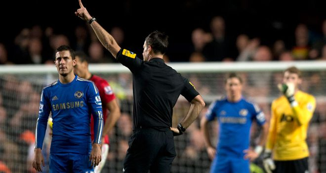 Mark Clattenburg insists he did nothing wrong at Stamford Bridge
