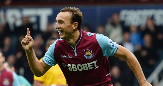 Mark Noble seeking Cup success against the Premier League leaders at the weekend