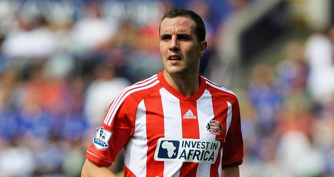John O'Shea: Sunderland defender keen to help out striker Steven Fletcher with some goals