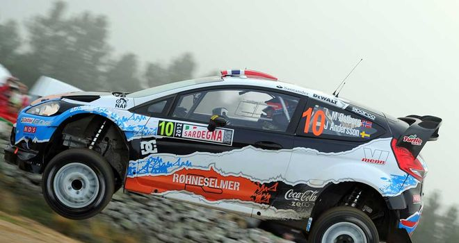 Mads Ostberg: Four stage wins on Saturday