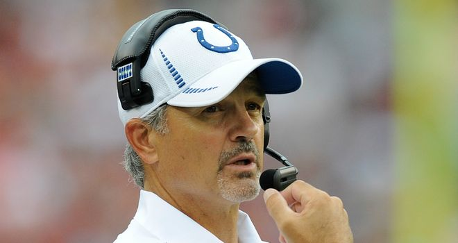 Chuck Pagano: Indianapolis head coach will be hospitalised for six to eight weeks