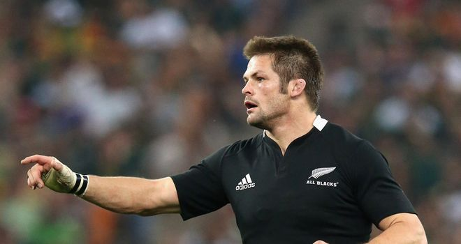 Back in Black: Richie McCaw