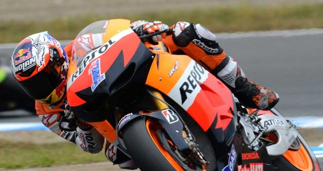 Casey Stoner: Fastest in his final race at Phillip Island