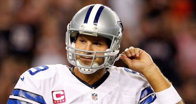 Tony Romo: Matched a career-low five interceptions as the Cowboys slumped