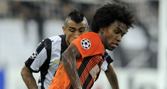 Willian: Admired by Tottenham manager Andre Villas-Boas