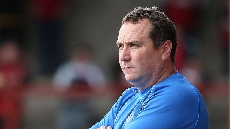 Micky Mellon: Led Fleetwood to the Football League