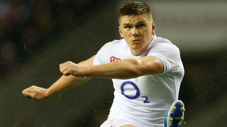 Owen Farrell: Has landed 109 points in 12 Tests
