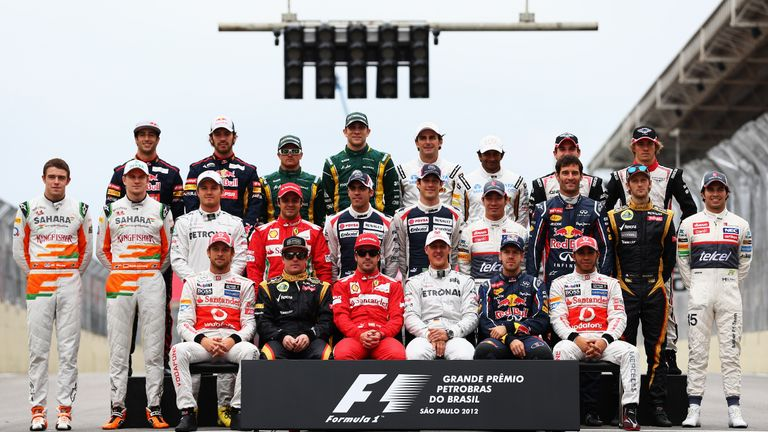 The Formula 1 class of 2012