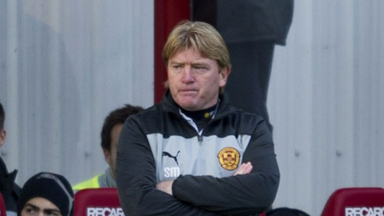 Stuart McCall: Motherwell boss refused to be drawn on Darren Randolph's collision with Callum Paterson