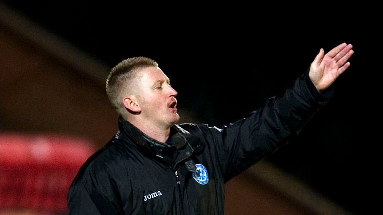Steve Lomas: Bemoaned poor St Johnstone finishing