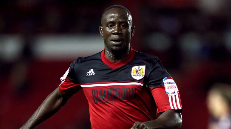 Albert Adomah: Helped Bristol City to a vital win