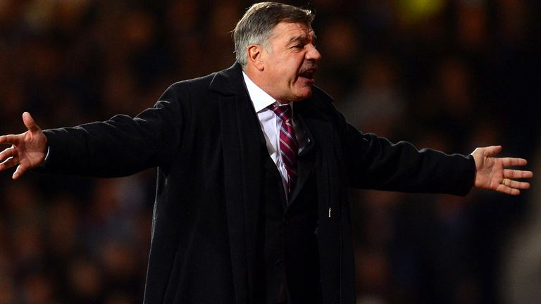 Sam Allardyce: Has told his team to go to Tottenham in confidence