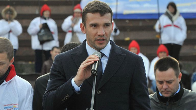 Andriy Shevchenko: Could play in Asia