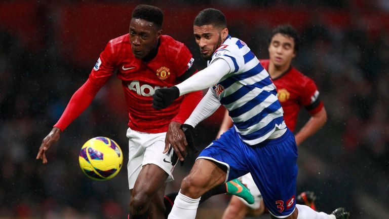 Danny Welbeck: Says Robin van Persie is a world-class striker
