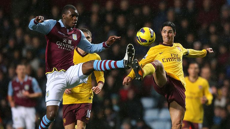 There was to be no separating Aston Villa and Arsenal