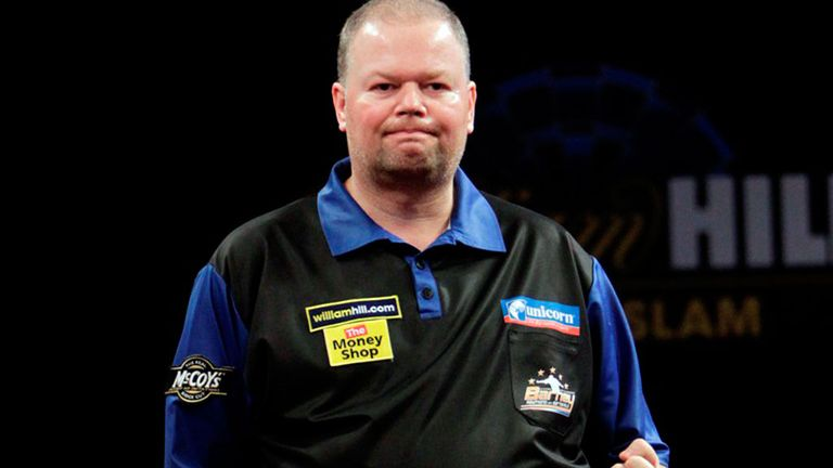 Ray of hope: Van Barneveld will head to the World Championships in a positive frame of mind