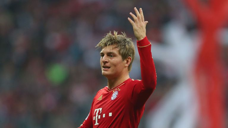 Toni Kroos: Calm over contract situation at Bayern Munich