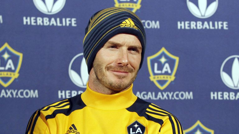 David Beckham: Has been linked with a return to East London with West Ham