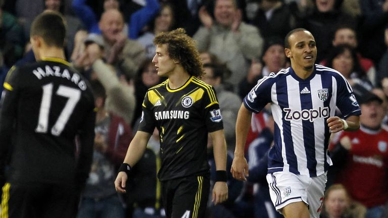 David Luiz: Defender admits Chelsea players were angry after defeat at West Brom