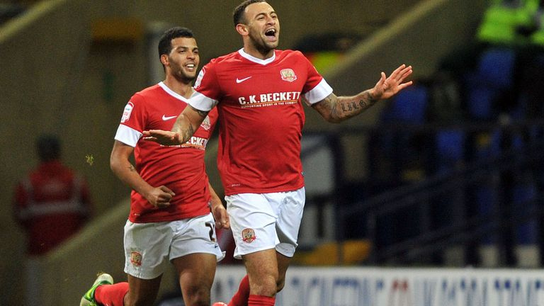 Craig Davies: Scored on Barnsley return