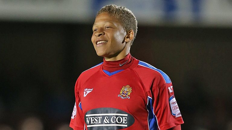 Dwight Gayle: Loaned to Posh from Daggers