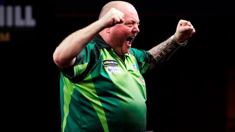 Andy Hamilton: Needed to be at his best to beat Gary Anderson to reach the quarter-finals