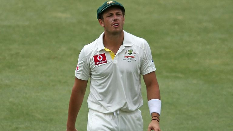 James Pattinson: Australia paceman claimed figures of 7-37
