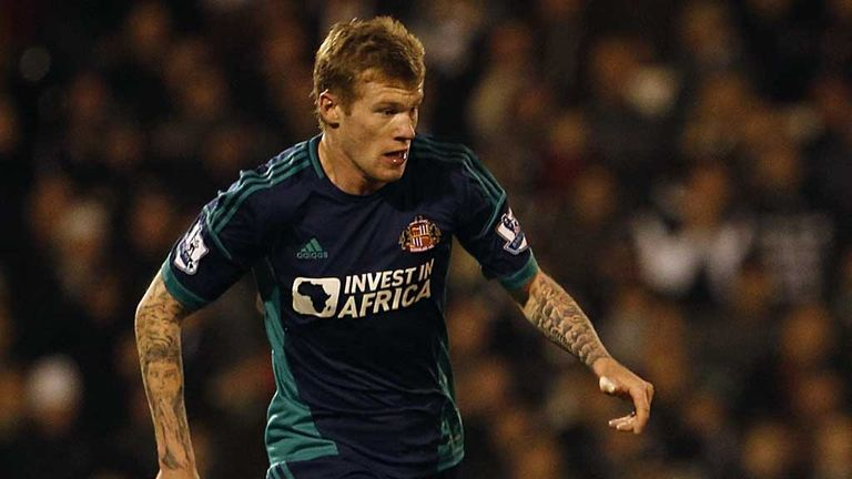 James McClean: Major doubt for Sunderland's game against Arsenal