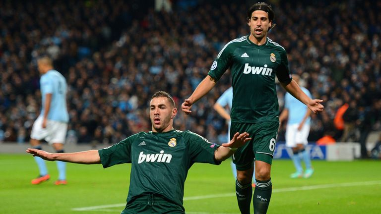 Karim Benzema opened the scoring on a night that sealed Manchester City's fate in Group D