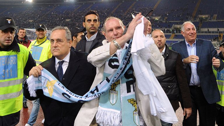 Paul Gascoigne: Legend for Lazio and Spurs
