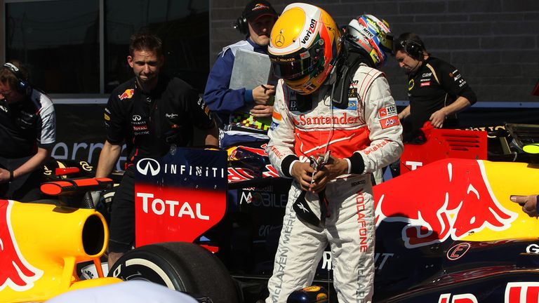 Lewis Hamilton: Aware Red Bull are the target when he switches to Mercedes