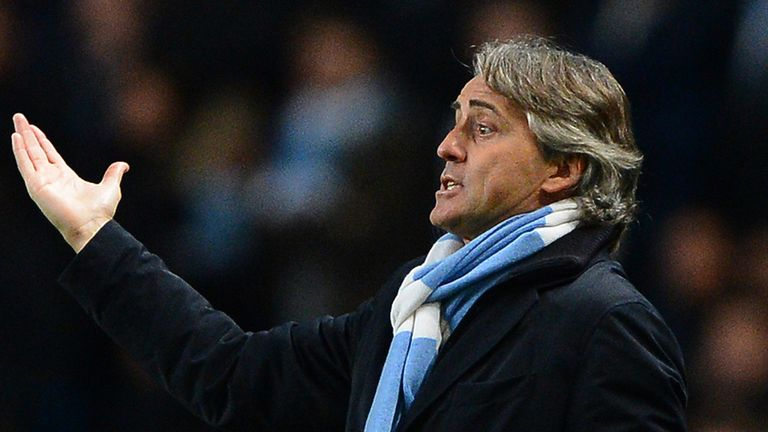 Roberto Mancini: Confident he will be given time to mount Champions League challenge