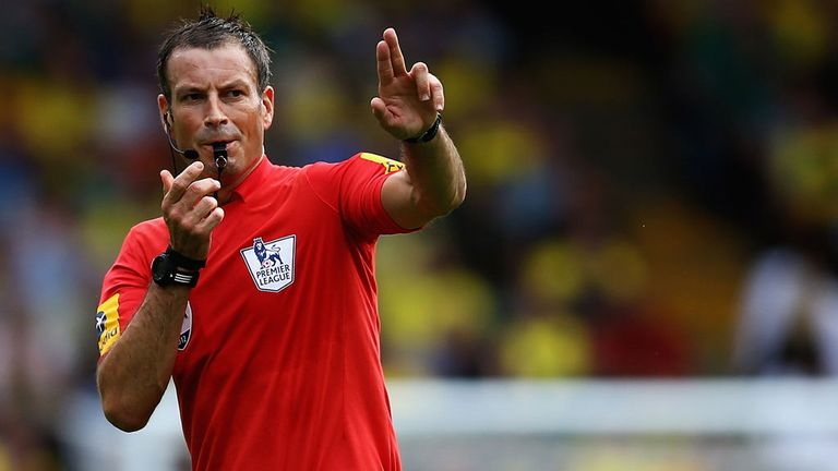 Mark Clattenburg: Has accepted statement as an apology