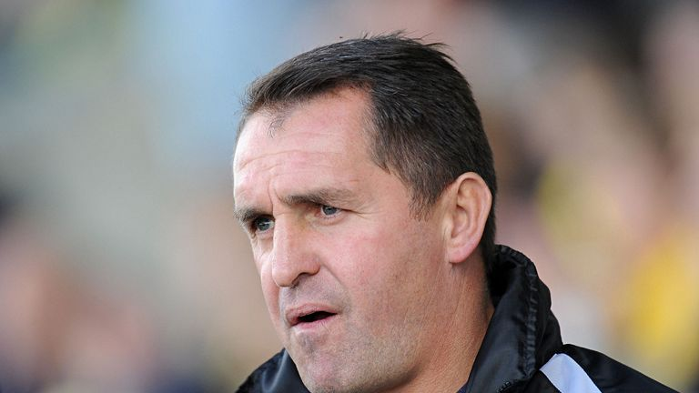 Martin Allen: Not a happy camper