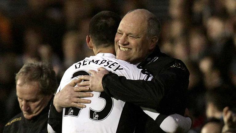 Martin Jol: Believes his side miss the goals of Clint Dempsey