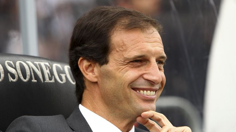 Massimiliano Allegri: Delighted with Milan's improvement