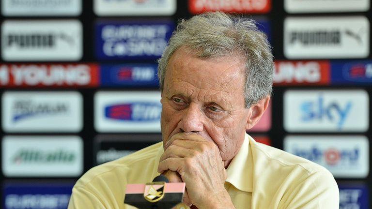 Maurizio Zamparini: Apologised for sacking Giuseppe Sannino