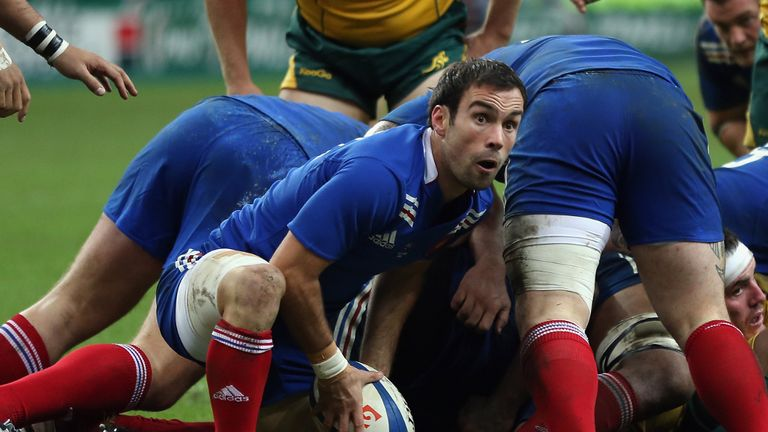 Morgan Parra: Starts for France against Samoa