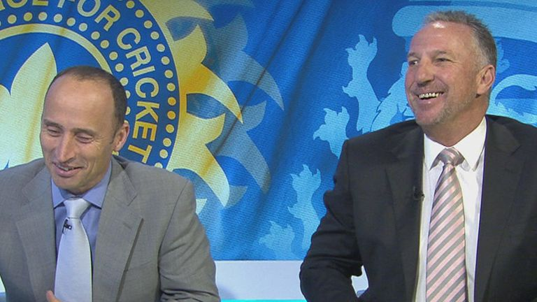 Nasser and Beefy: Impressed with England and Ashwin