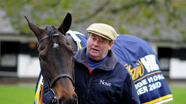 Long Run: David Elsworth believes he can win the King George