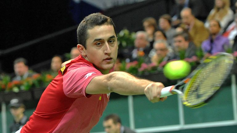 Nicolas Almagro: Beaten by Radek Stepanek in decisive singles rubber