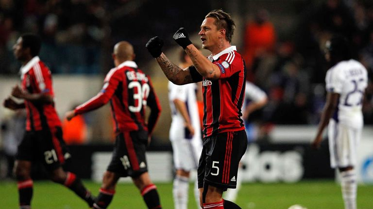 Philippe Mexes: Scored a crucial goal for Milan